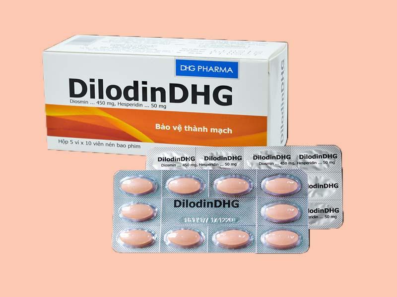 Thuốc trị bệnh trĩ DilodinDHG