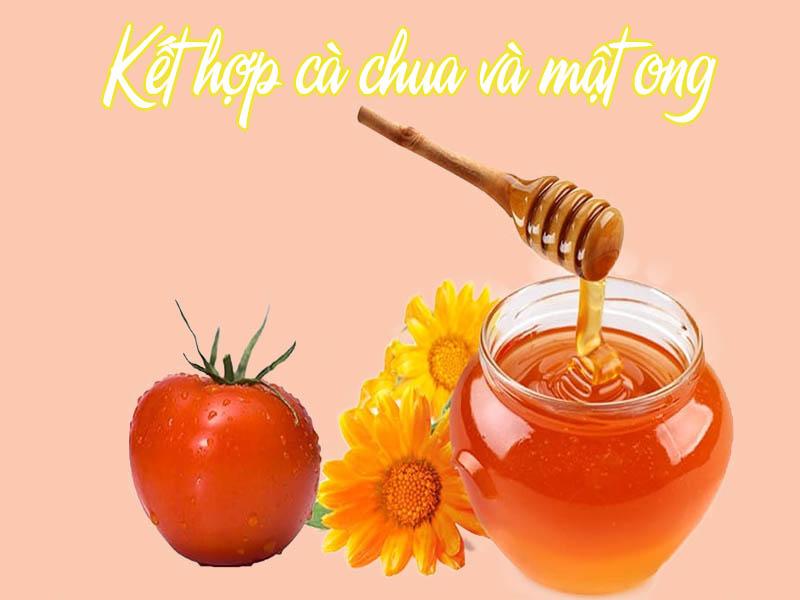 Kết hợp mật ong, cà chua