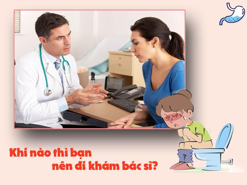 Tiêu chảy thì đi nên khám bác sĩ khi nào?