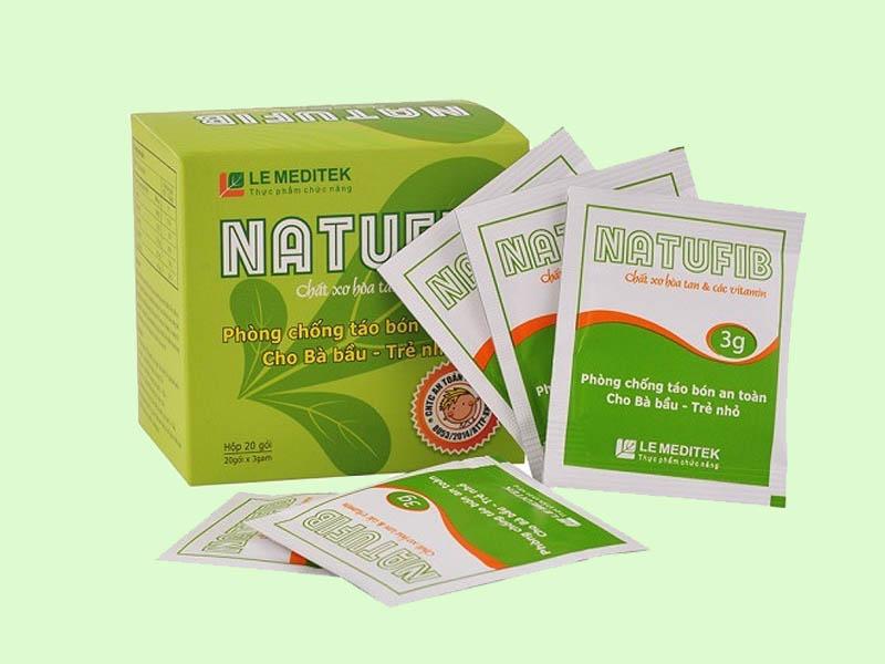 Thuốc trị táo bón Natufib