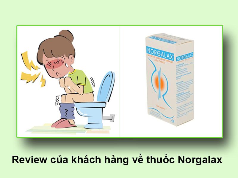 Review của khách hàng về Norgalax