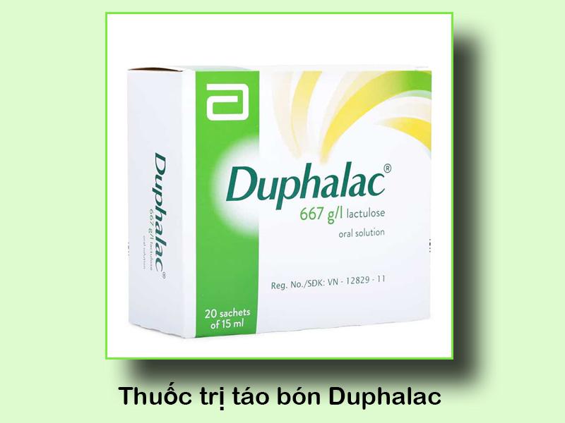 Thuốc trị táo bón Duphalac
