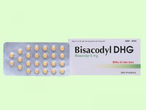 Thuốc trị táo bón Bisacodyl DHG