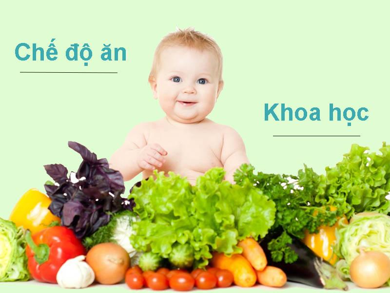 Xây dựng chế độ ăn khoa học cho trẻ