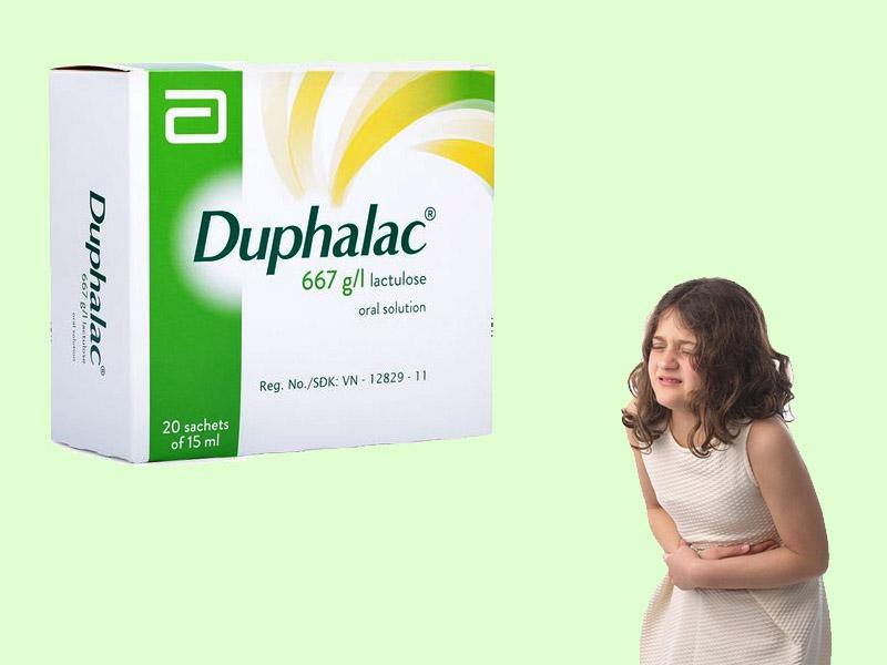 Khi cho trẻ uống thuốc Duphalac cần có sự giám sát của người lớn