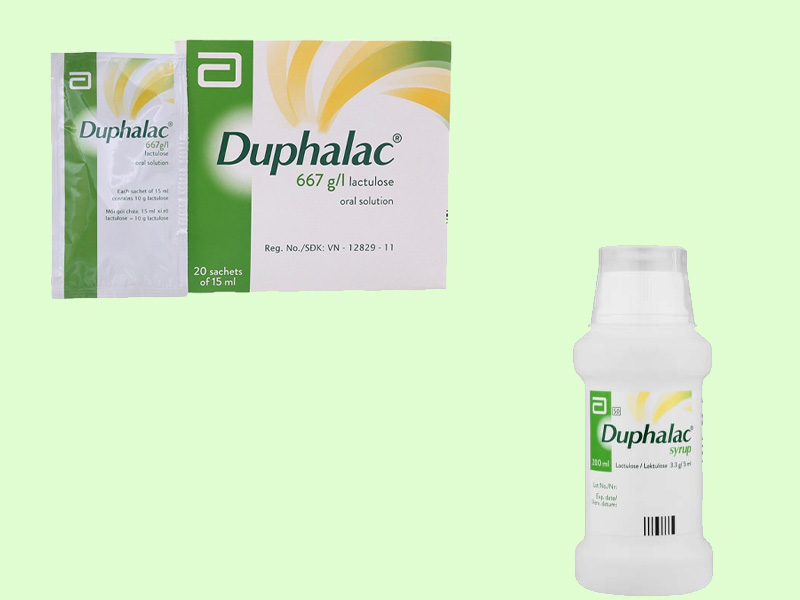 Thuốc Duphalac dạng siro và dạng tinh thể uống