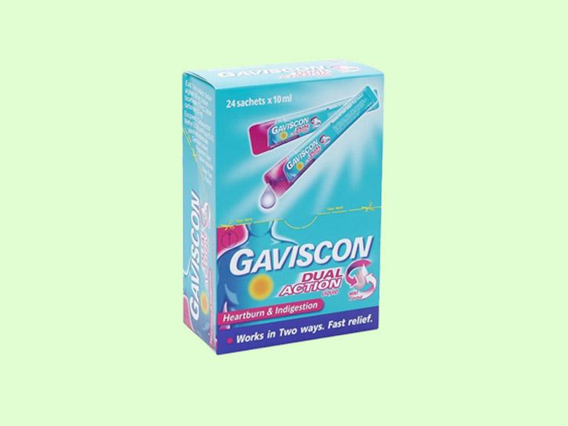 Hỗn dịch uống Gaviscon Dual Acion
