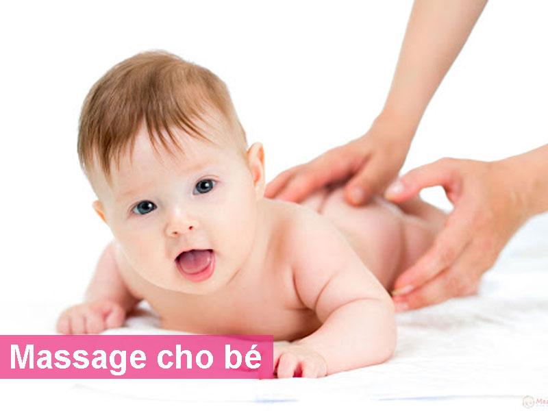 Massage cho bé