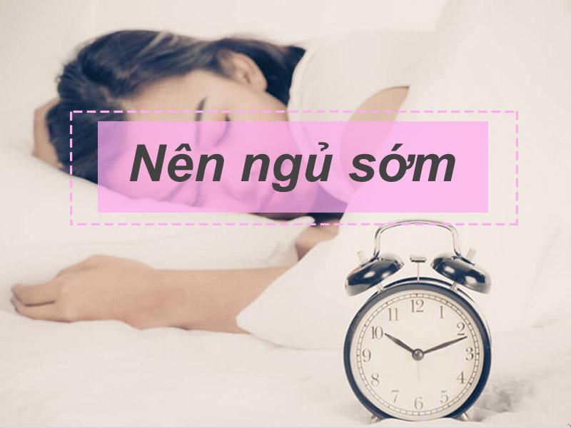 Ngủ sớm là thói quen rất tốt giúp hỗ trợ điều trị trào ngược dạ dày