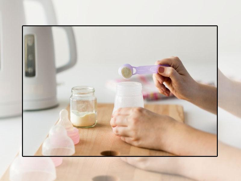 Pha sữa theo đúng quy trình, tỉ lệ