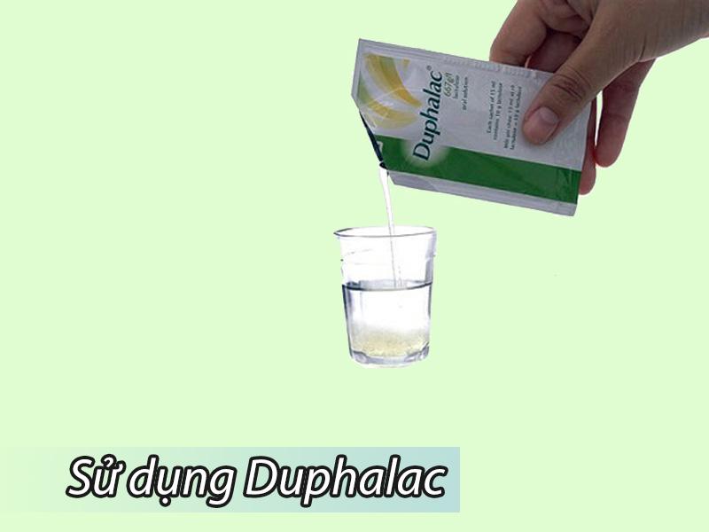 Hướng dẫn sử dụng thuốc điều trị táo bón Duphalac