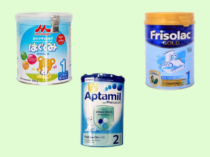 Các loại sữa mát cho trẻ bị táo bón