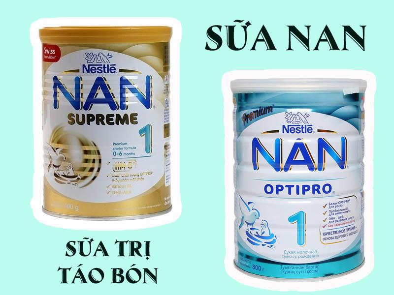 Hình ảnh minh họa: Sữa Nan Nga