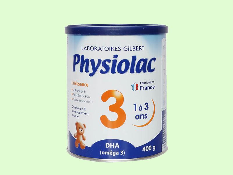 Sữa Physiolac nhập khẩu nguyên lon từ Pháp