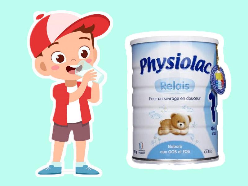 Hình ảnh minh họa: Sữa Physiolac