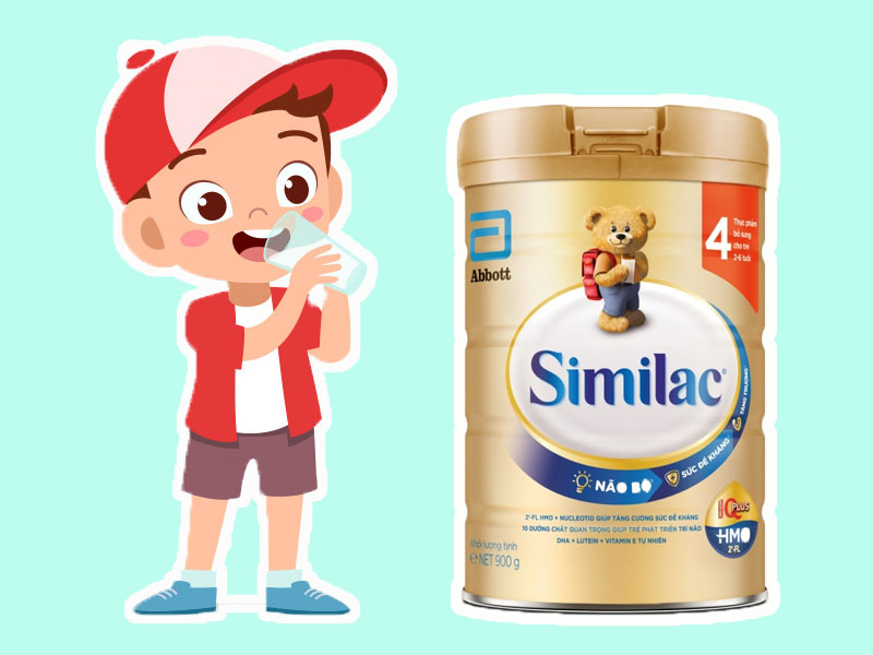 Hình ảnh minh họa: Sữa Similac