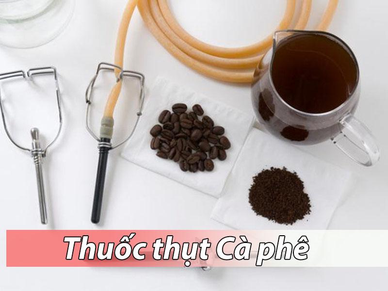 Thuốc thụt cà phê sử dụng để trị táo bón cho bà bầu