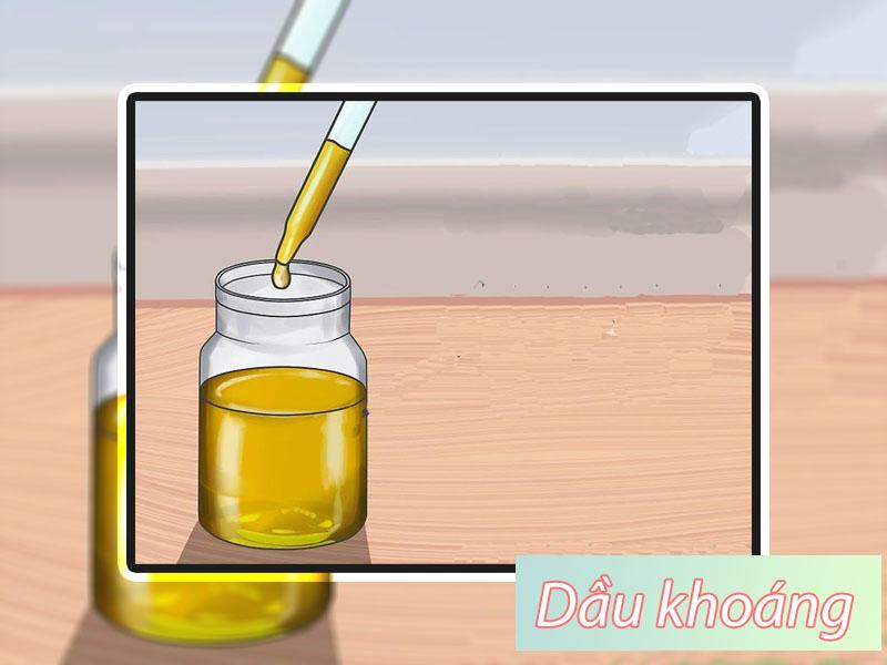 Thuốc thụt dầu khoáng dành cho bà bầu
