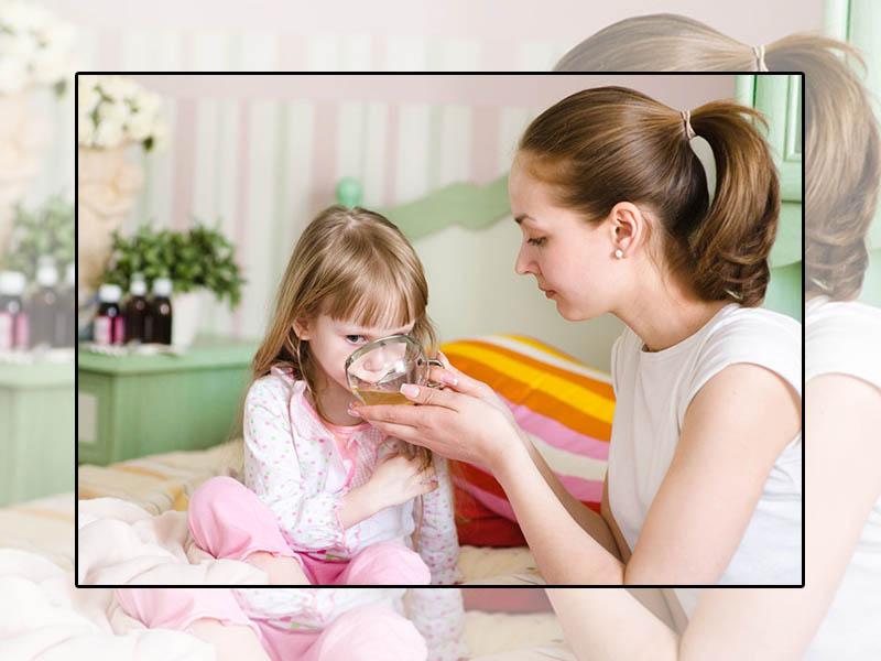 Bổ sung 1 số loại trà thảo dược dành cho trẻ em