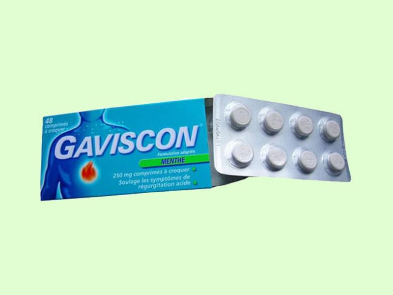 Viên nén nhai Gaviscon